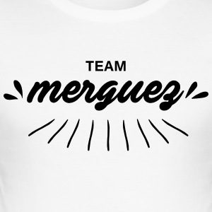 laget merguez - Slim Fit T-skjorte for menn