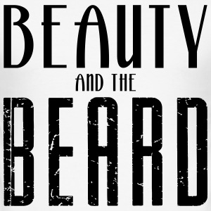 Beauty and the Beard - slim fit T-shirt