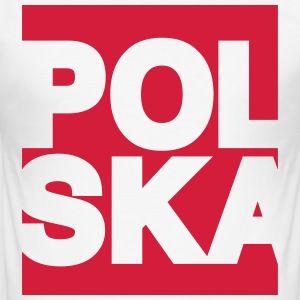 T Motif Polska - Men's Slim Fit T-Shirt