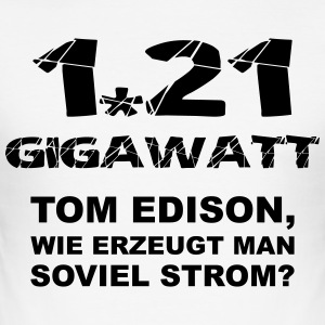 1.21 Gigawatt Version-1 - Männer Slim Fit T-Shirt