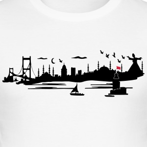 silhouette istanbul - Tee shirt près du corps Homme