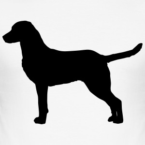 Chesapeake Bay Retriever Silhouette - slim fit T-shirt