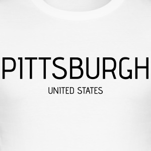 Pittsburgh - Herre Slim Fit T-Shirt