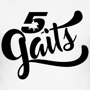 5Gaits 1 - Men's Slim Fit T-Shirt