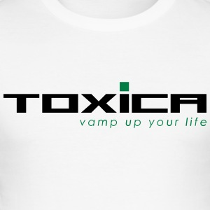 toxica - Männer Slim Fit T-Shirt