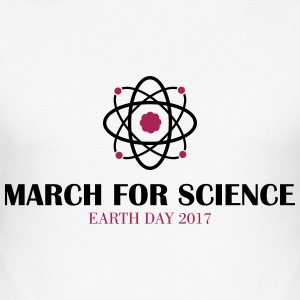 March for Science - Männer Slim Fit T-Shirt