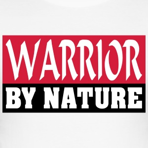 Warrior by Nature - Slim Fit T-skjorte for menn