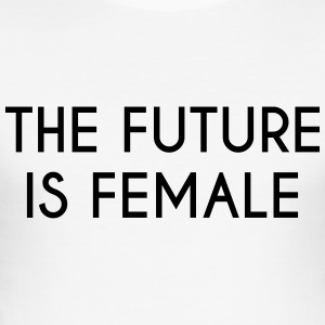 future is female - Tee shirt près du corps Homme