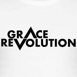 Grace Revolution - Revolution Grace - Slim Fit T-skjorte for menn