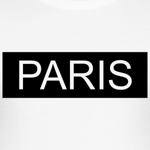 Paris - Männer Slim Fit T-Shirt