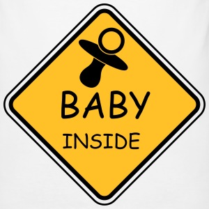 Baby Inside - Männer Slim Fit T-Shirt