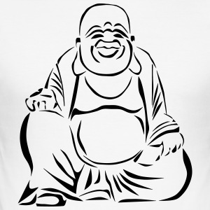 Buddha - Herre Slim Fit T-Shirt