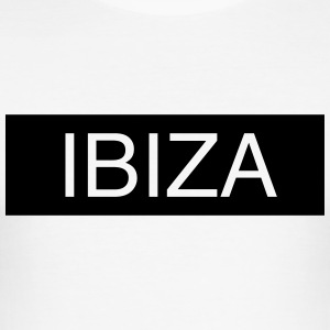 Ibiza - Slim Fit T-skjorte for menn