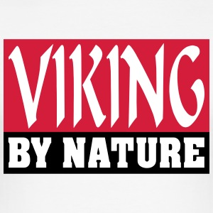 Viking by Nature - Men's Slim Fit T-Shirt
