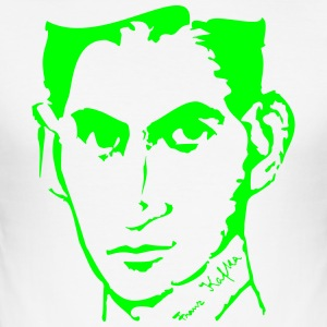 Portrait of Franz Kafka - Men's Slim Fit T-Shirt