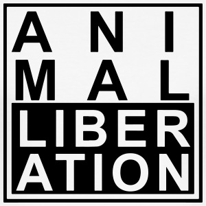Animal liberation - Men's Slim Fit T-Shirt