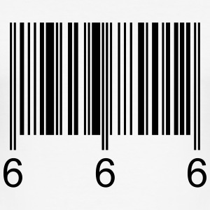 Barcode666 - Tee shirt près du corps Homme
