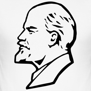 Lenin - Slim Fit T-shirt herr