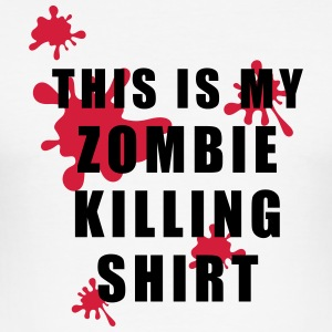 zombie - Herre Slim Fit T-Shirt