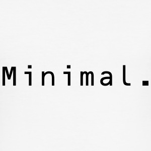 Minimal. - Männer Slim Fit T-Shirt