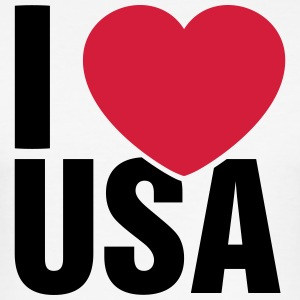 I love USA! - Männer Slim Fit T-Shirt