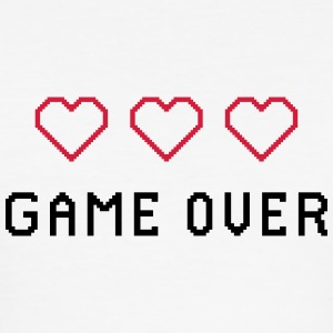 GAME OVER RETRO - Männer Slim Fit T-Shirt