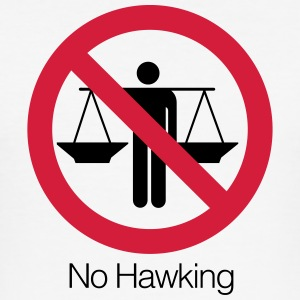 No Hawking - Men's Slim Fit T-Shirt