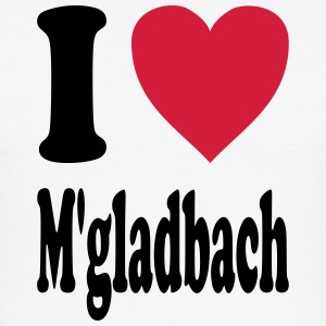 I love Mönchengladbach - Männer Slim Fit T-Shirt
