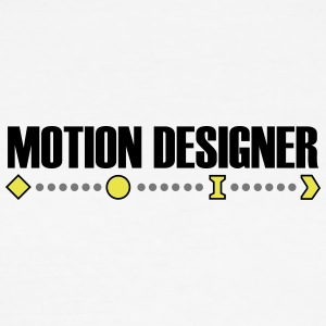 motion Designer - Herre Slim Fit T-Shirt