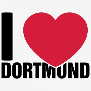 I love Dortmund - Men's Slim Fit T-Shirt