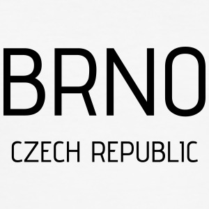 brno - Männer Slim Fit T-Shirt