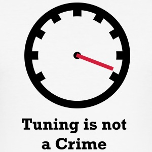 Tuning is geen Misdaad - slim fit T-shirt
