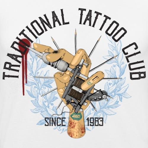 traditional tattoo club - Männer Slim Fit T-Shirt
