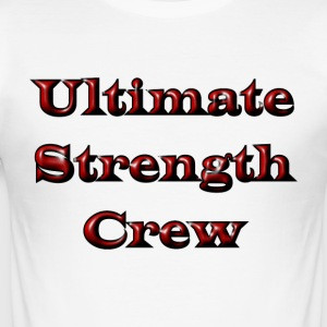 Ultimata Strength Crew - Slim Fit T-shirt herr