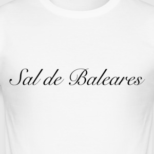 Sal de Baleares merker - Slim Fit T-skjorte for menn