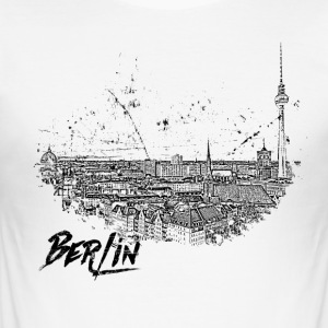 Berlin - City - City - Men's Slim Fit T-Shirt