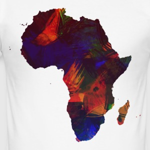BEAUTIFUL AFRIKA COLLECTION - Slim Fit T-shirt herr