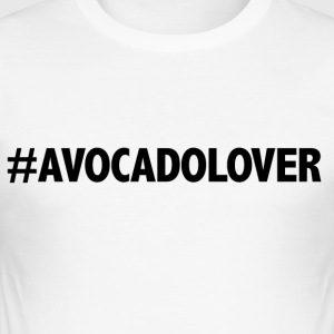 #avocadolover - Slim Fit T-skjorte for menn