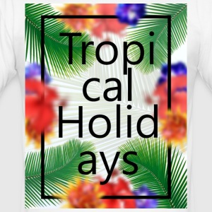 Ferie Tropical - Herre Slim Fit T-Shirt