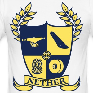 Nether College T-shirt - Slim Fit T-shirt herr
