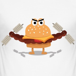 Burger builder - Men's Slim Fit T-Shirt