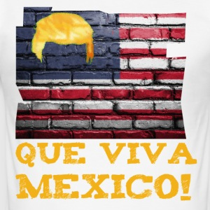 Que viva mexico! - Slim Fit T-skjorte for menn