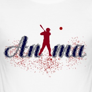 anima - Männer Slim Fit T-Shirt