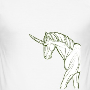 unicorn - Slim Fit T-shirt herr