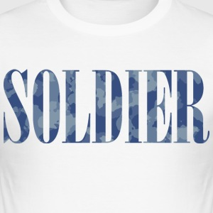 Soldier Camouflage - Männer Slim Fit T-Shirt
