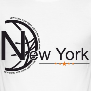 New York - Men's Slim Fit T-Shirt