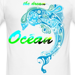 THE OCEAN DREAM - Slim Fit T-shirt herr
