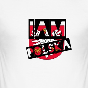 Iam Polska - Slim Fit T-skjorte for menn