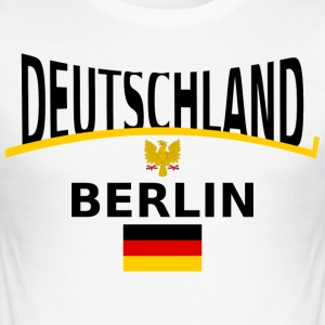 Duitsland - slim fit T-shirt