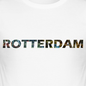 Rotterdam - Herre Slim Fit T-Shirt